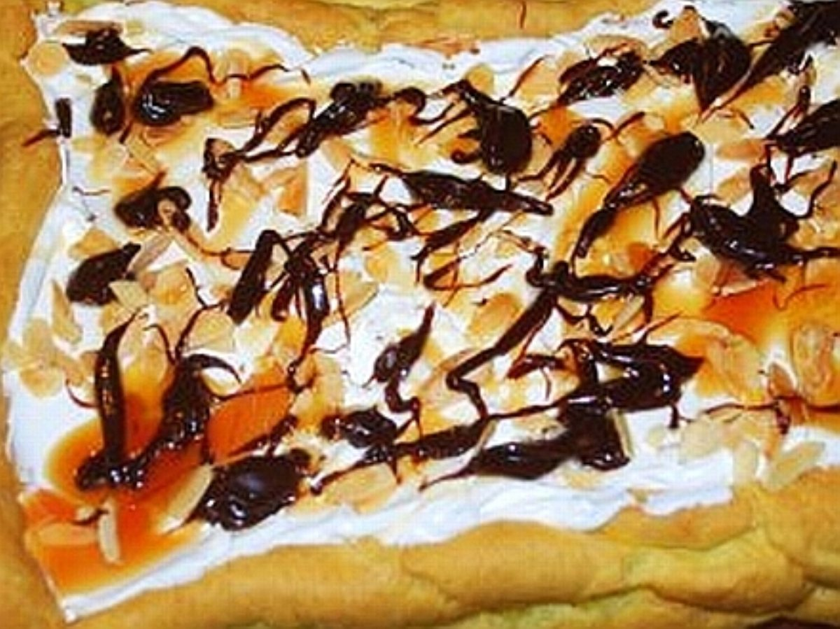 recipe: calories in a chocolate eclair with cream [30]