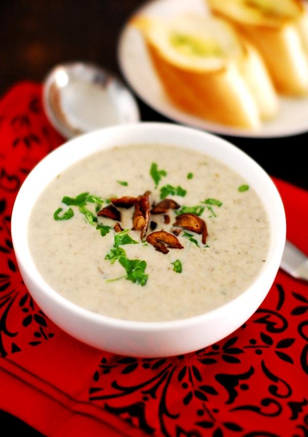 Cream Of Mushroom Soup | Recipes
