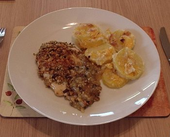 Creamy Baked Chicken Breasts