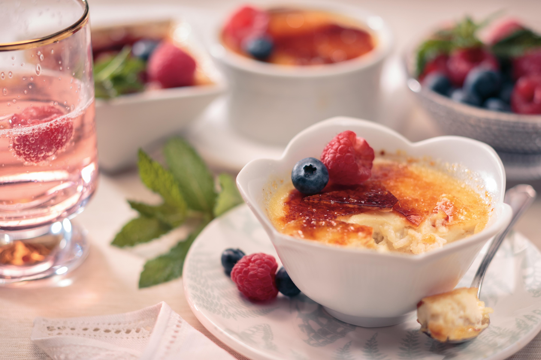 Crème Brûlée Rice Pudding