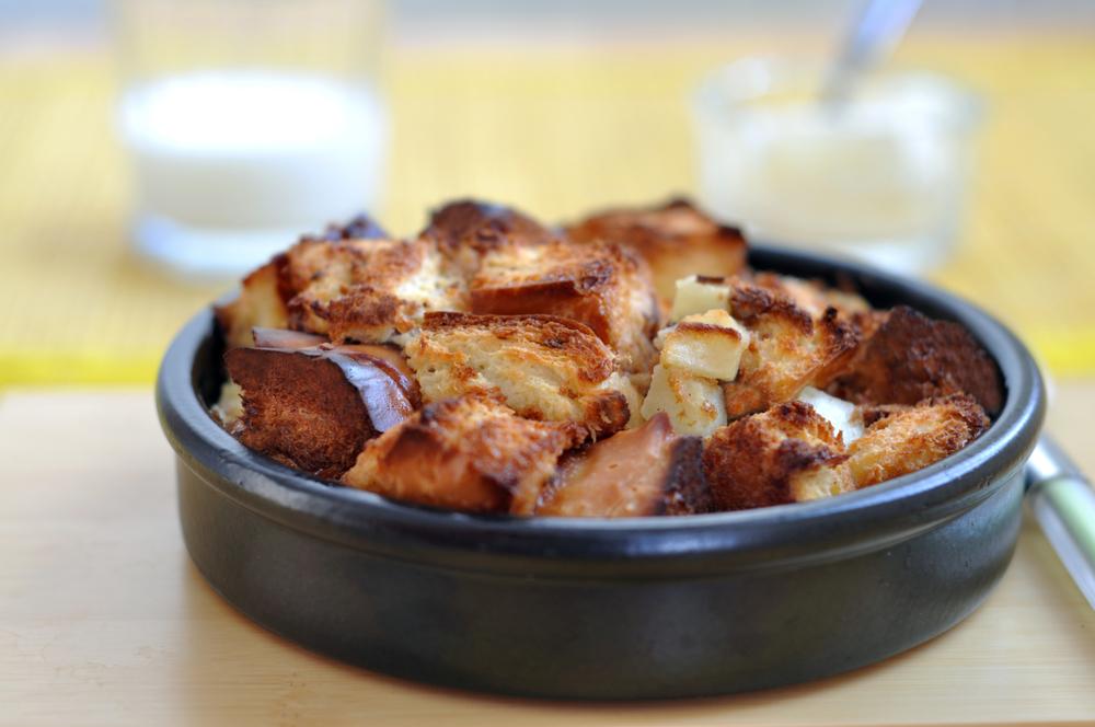 Crock-Pot Bread Pudding
