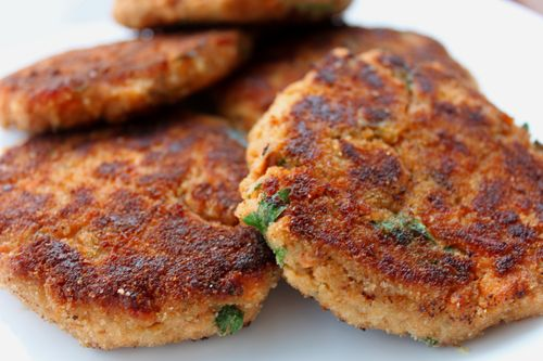 Canned Red Salmon Cakes