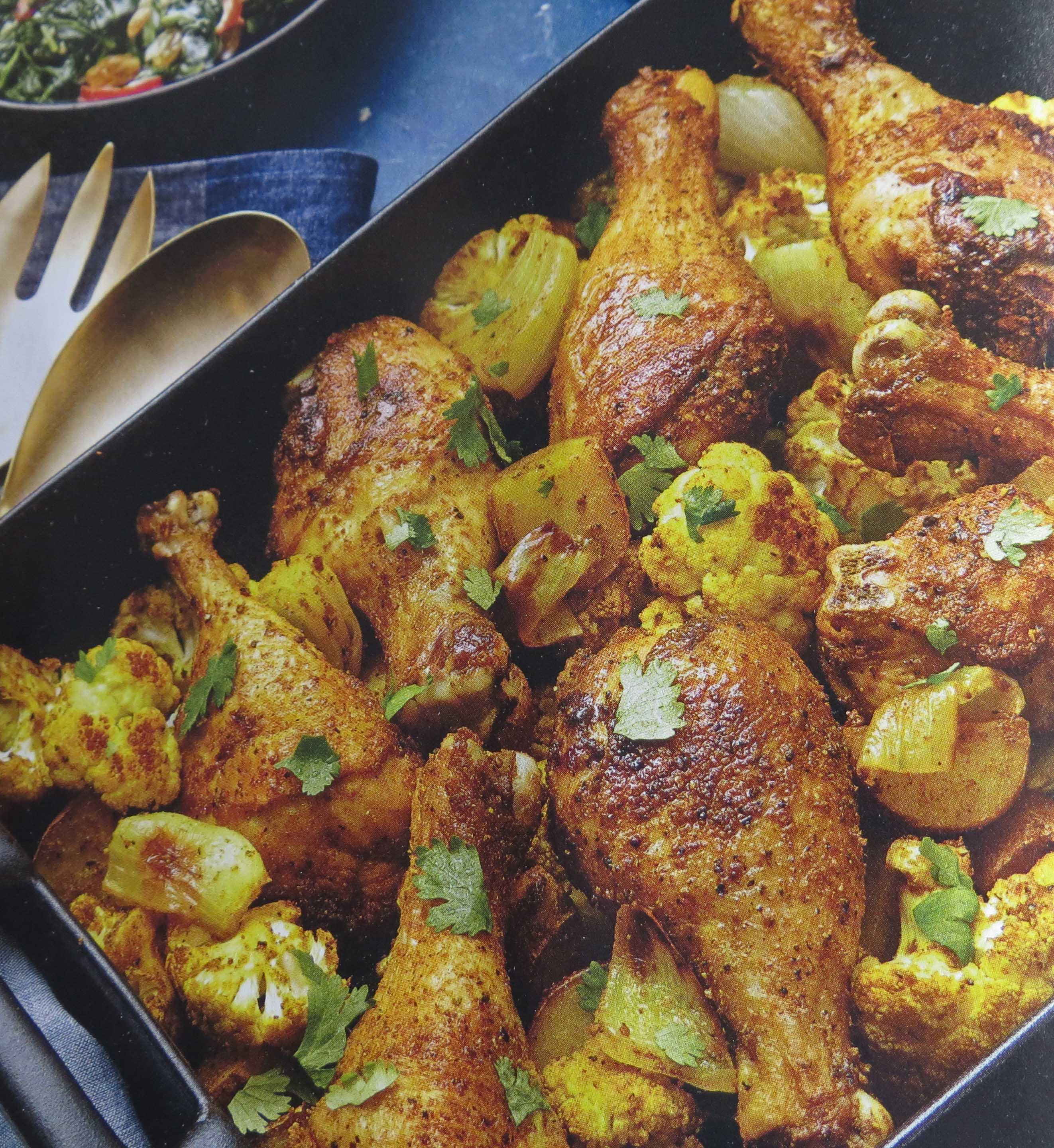 Recipes for chicken legs and potatoes