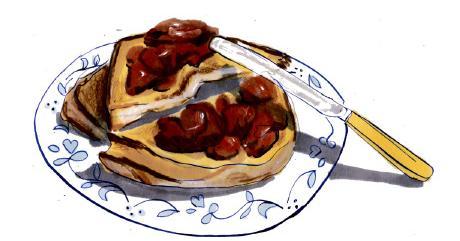 Chicken liver on toast recipe