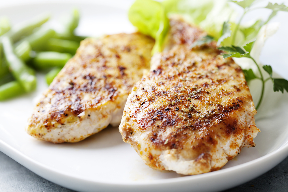 Easy Grilled Herb Chicken