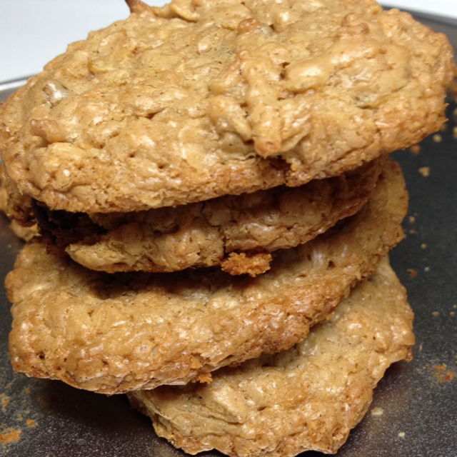 Cookies Peanut Butter Oatmeal Chocolate Raisins Coconut Pecans