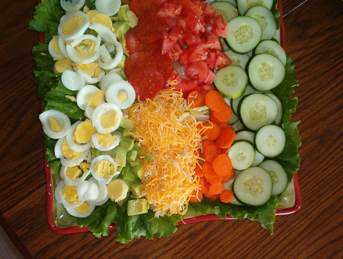 garden salad - Garden Salad Recipe