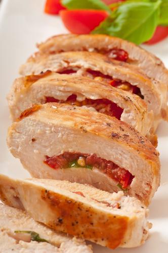 Grilled Sun-Dried Tomato And Basil Stuffed Chicken -Bernard
