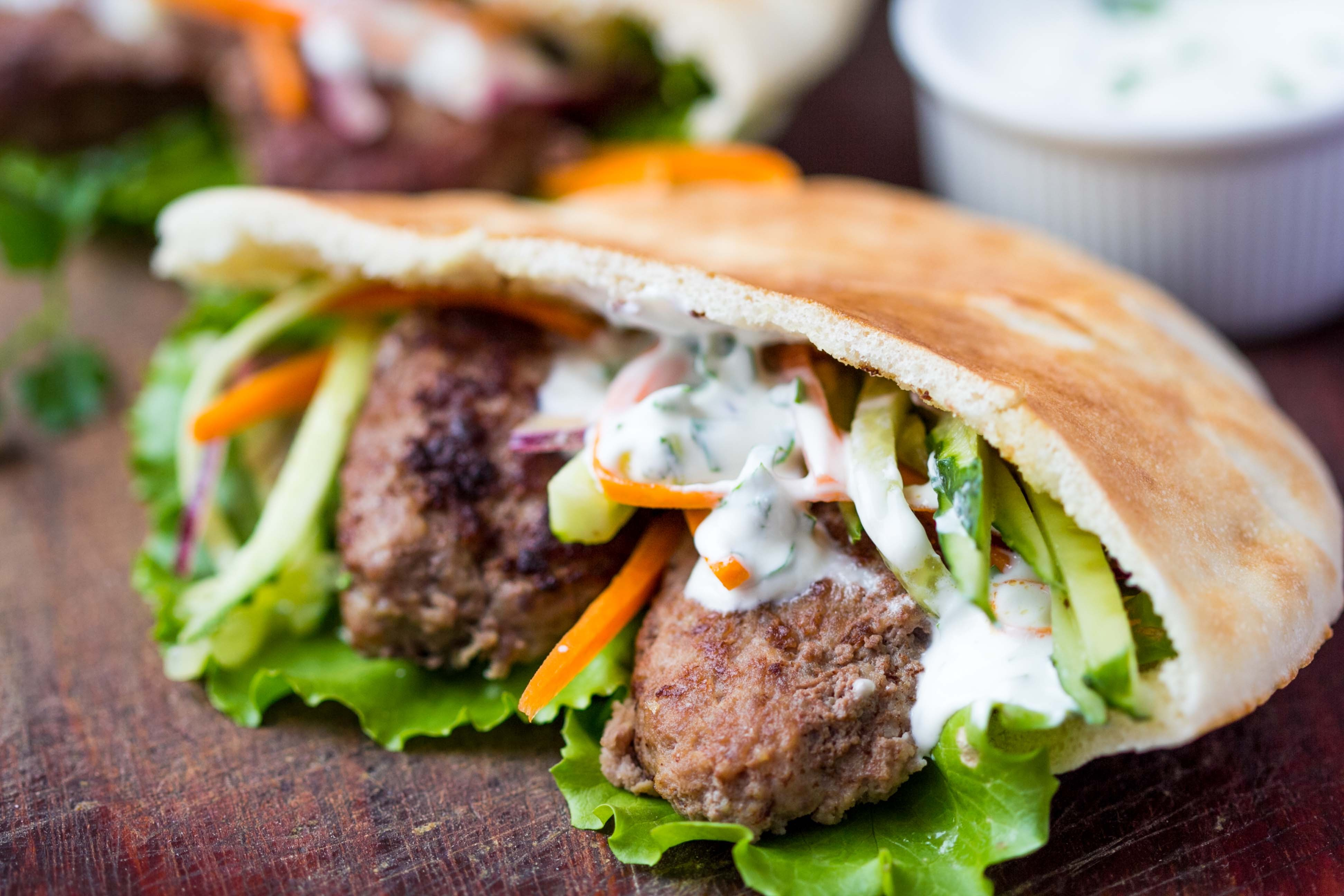 Gyro Meat Sandwich Filling with