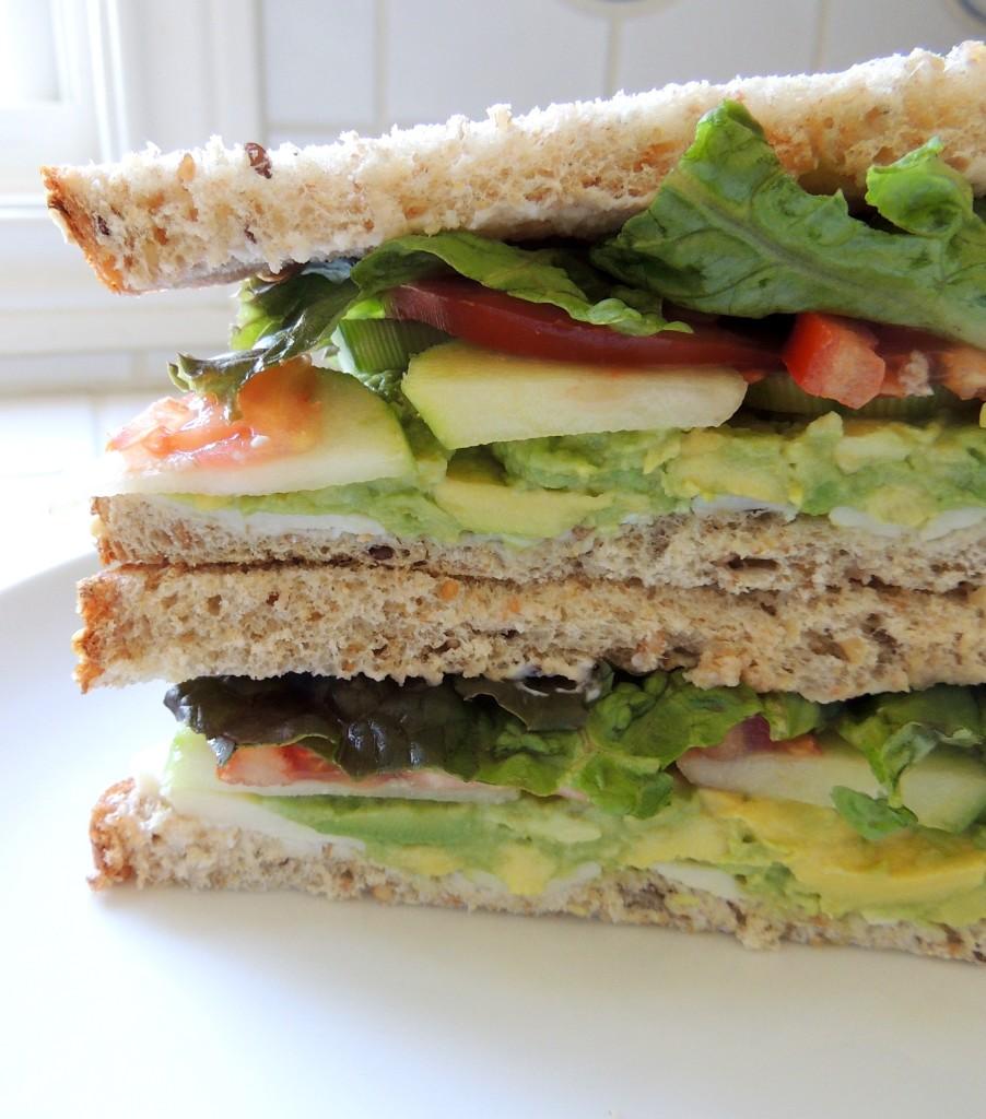 Havarti Veggie Sandwich