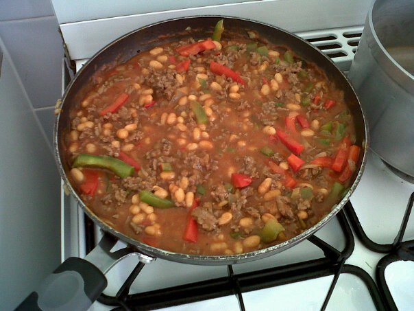 Heinz Baked Bean Chilli Con Carne With Rice