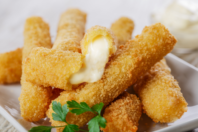 Homemade Mozzarella Sticks
