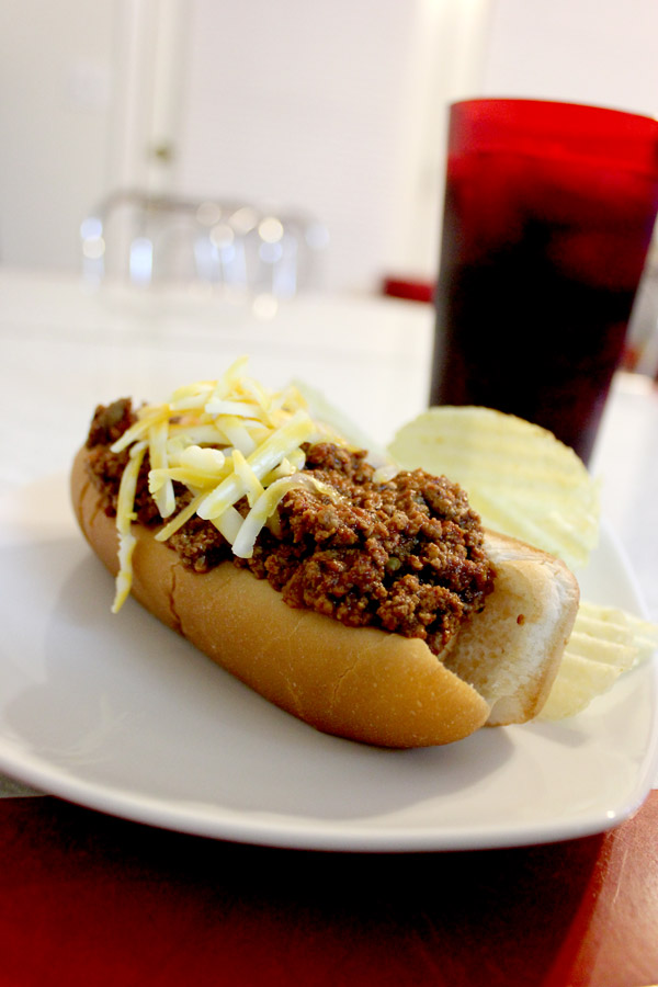 Hot Dog Chili New York Style No Beans