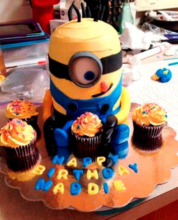 Remarkable How To Make Best Birthday Minion Cake Funny Birthday Cards Online Inifodamsfinfo