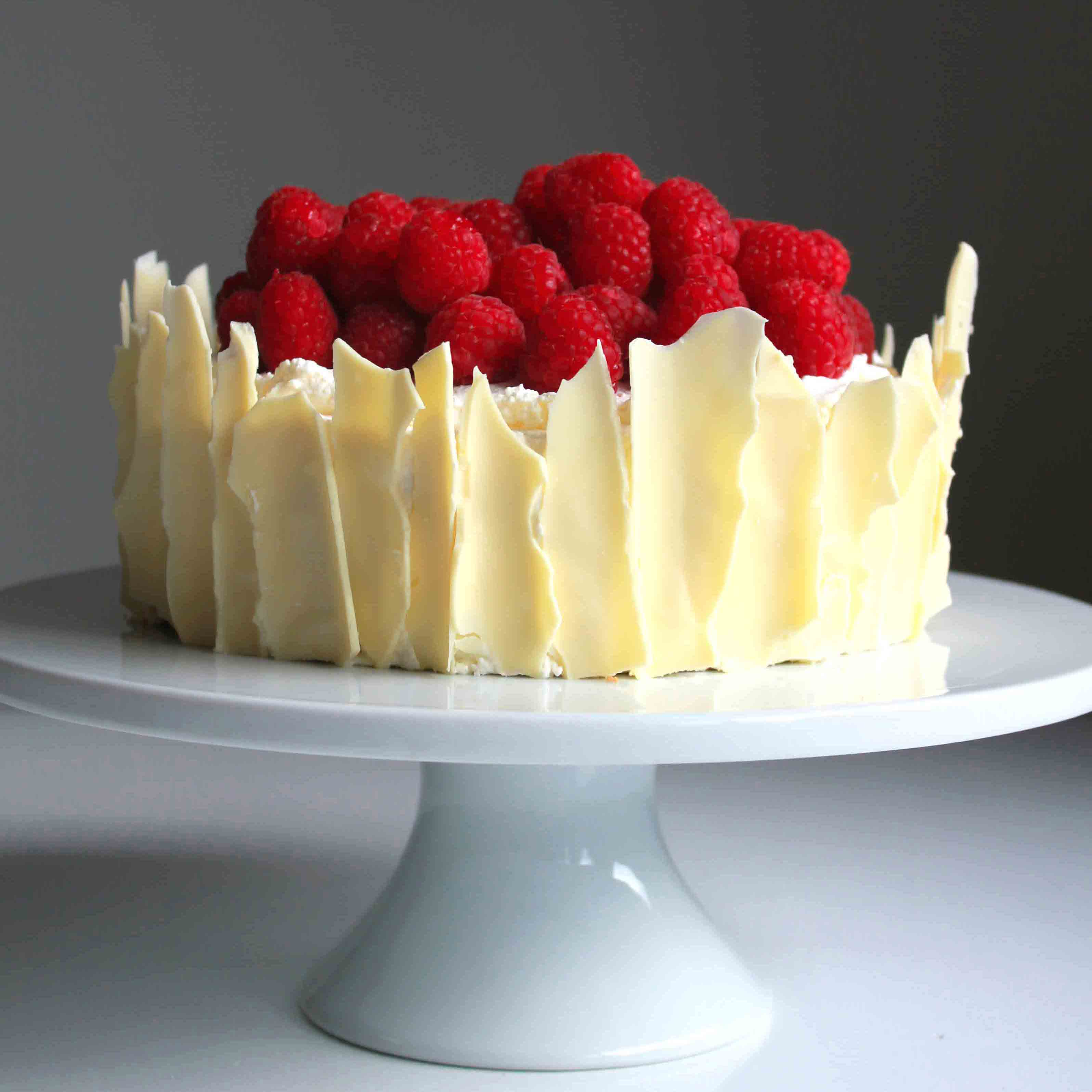 Sponge cake recipe white chocolate