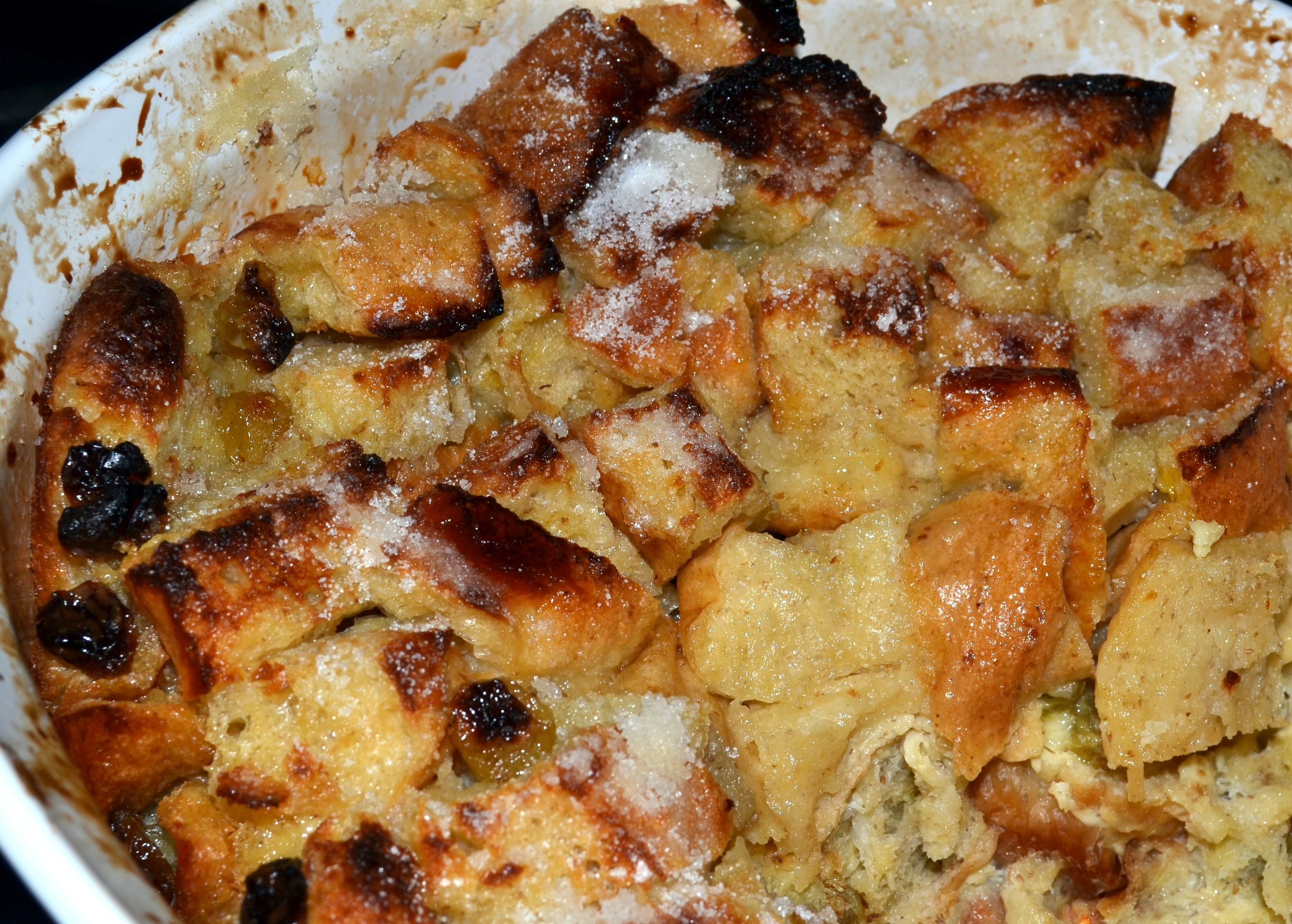 Bread Pudding with Butter Rum Sauce | Recipes