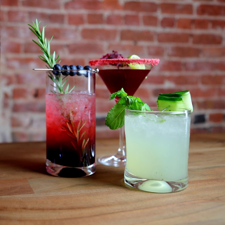 Mocktail Trio