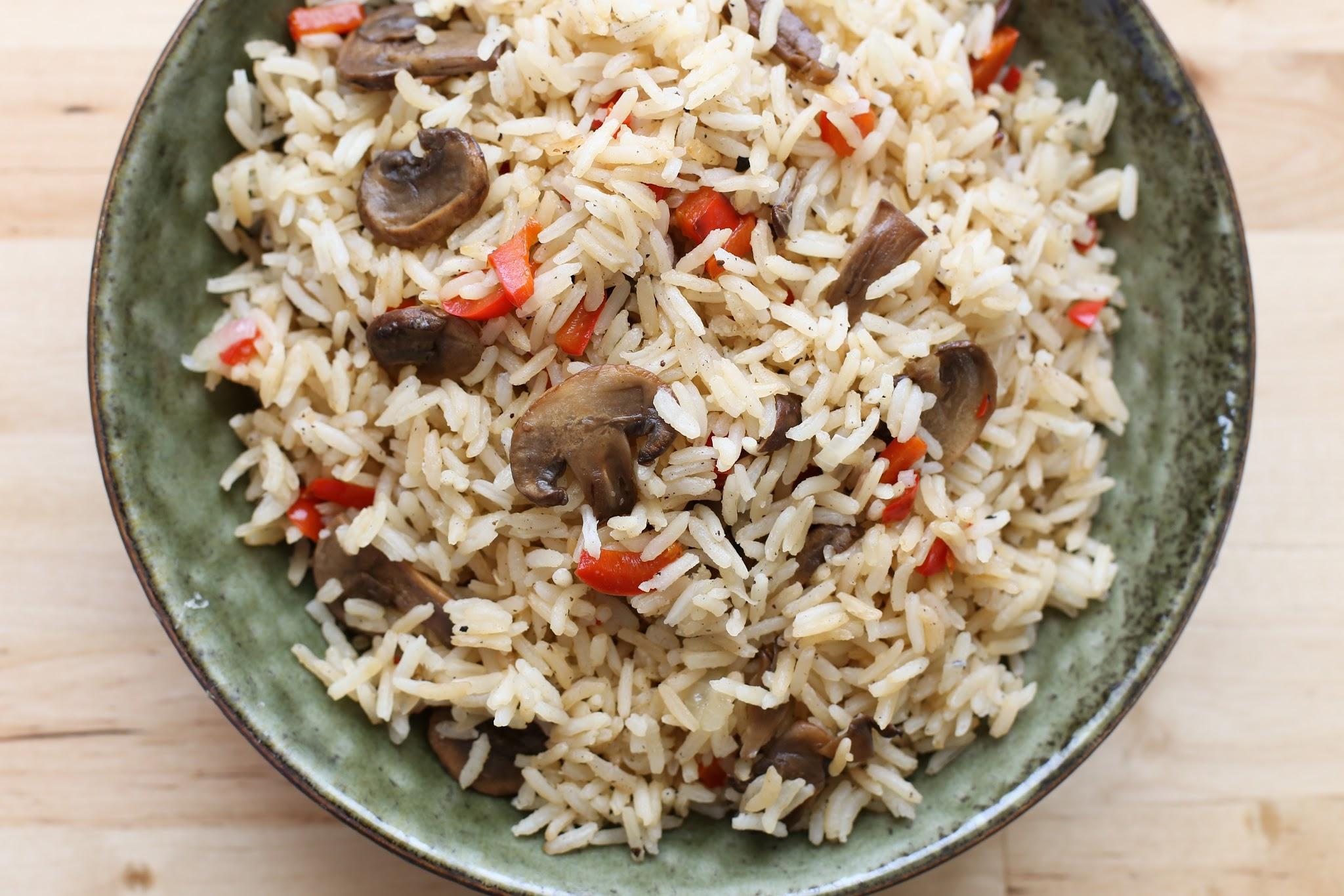 Rice and Mushrooms Recipe | Taste of Home