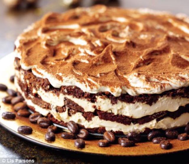 Nigellas Tiramisu layer cakes