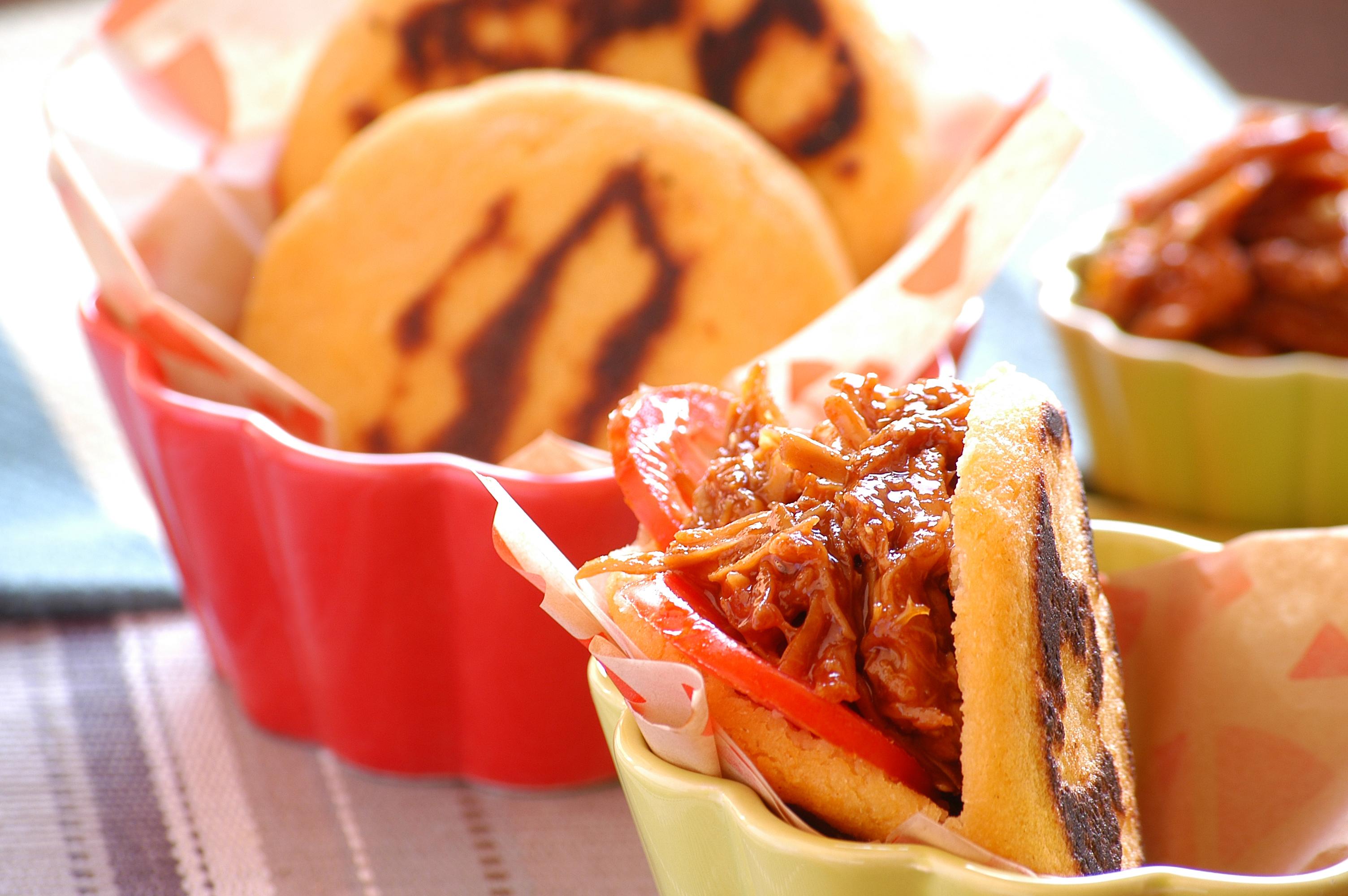 Oats & Sweet Potato Arepa