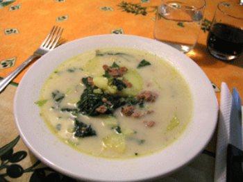 olive garden style zuppa toscana wedding soup - Olive Garden Soups