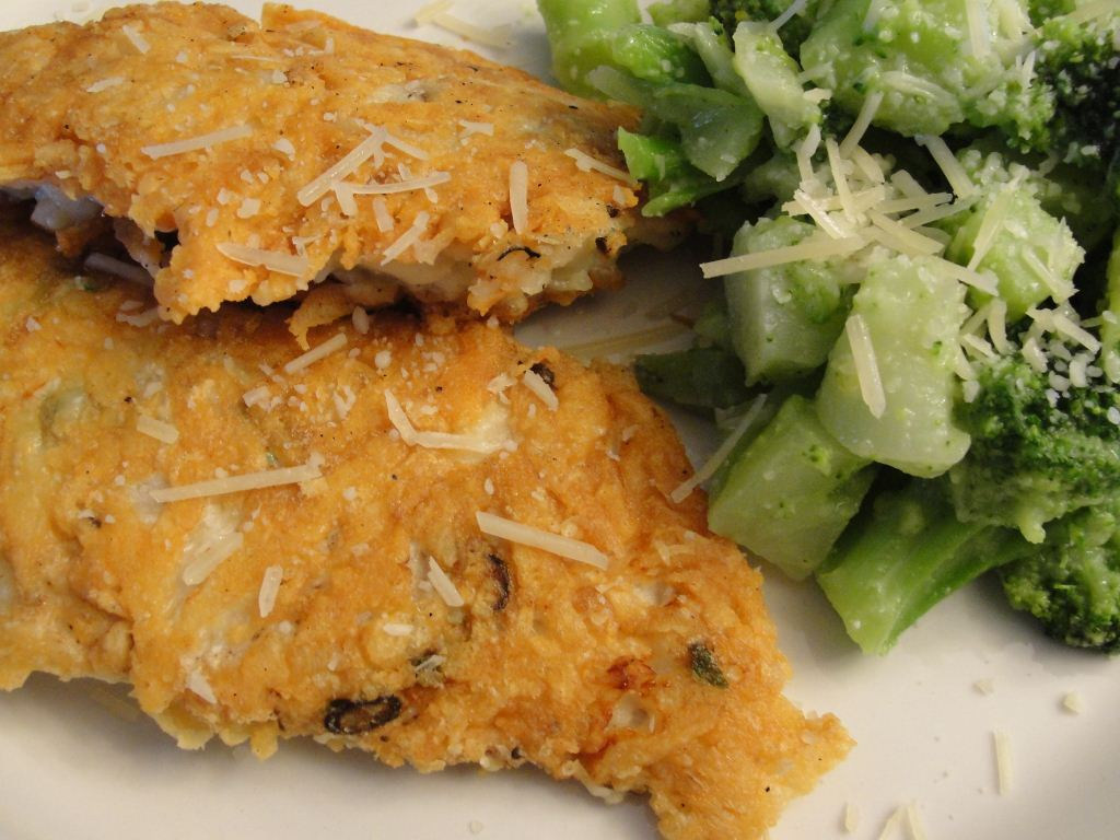 Parmesan crusted chicken cutlets recipe