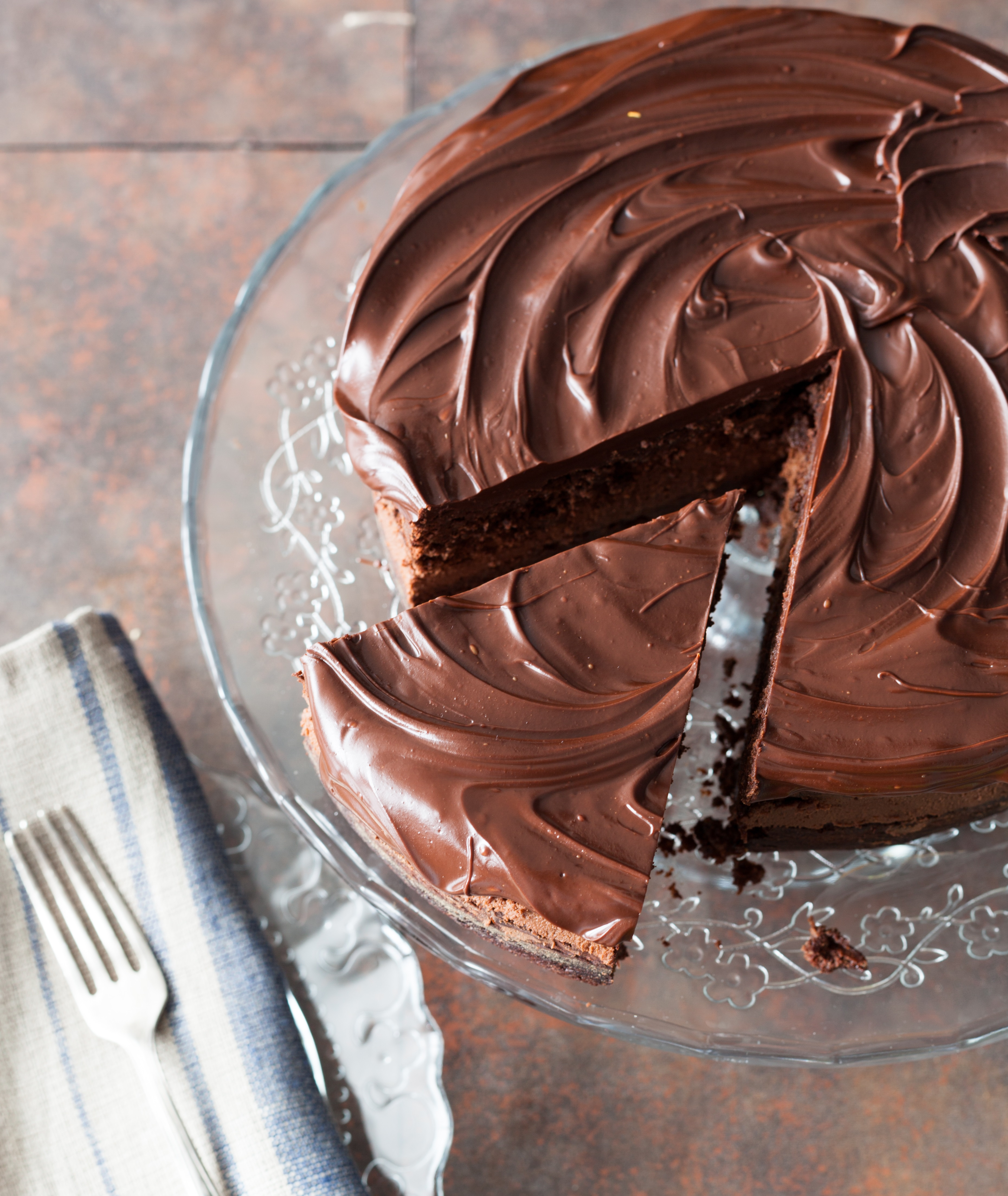 Perfectly Chocolate' Chocolate Cake and Frosting