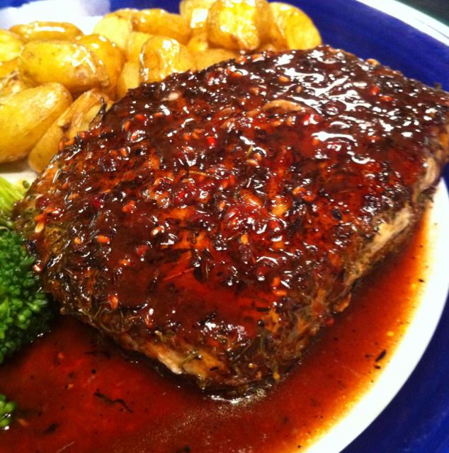 Raspberry pork chops recipes