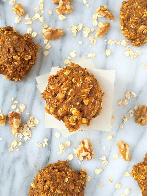 Pumpkin Oatmeal Breakfast Cookies {Gluten Free} | Recipes