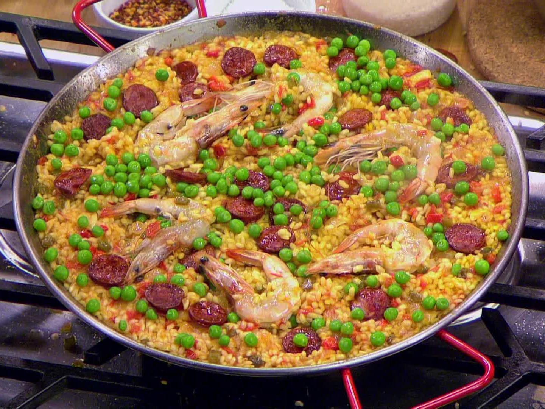 Seafood and Chorizo Paella - BigOven