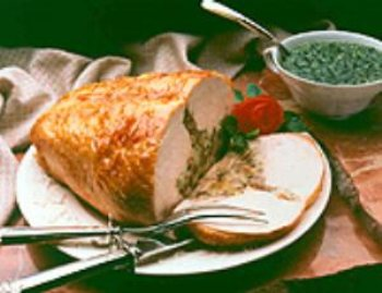 Turkey breast pesto