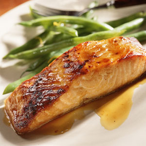 Sweet Baked Salmon