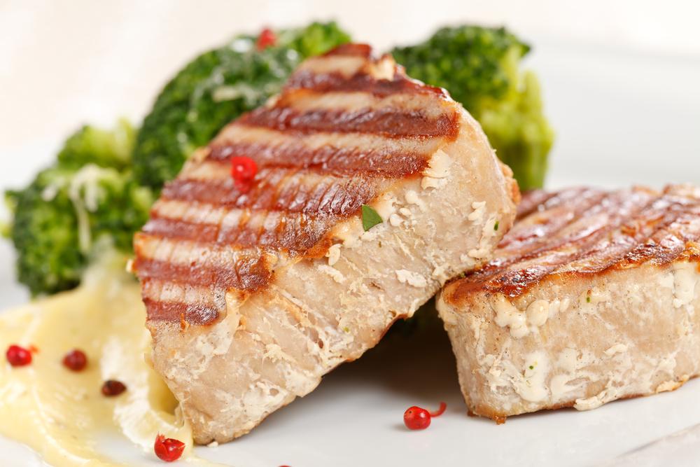 Imagini pentru tuna steak
