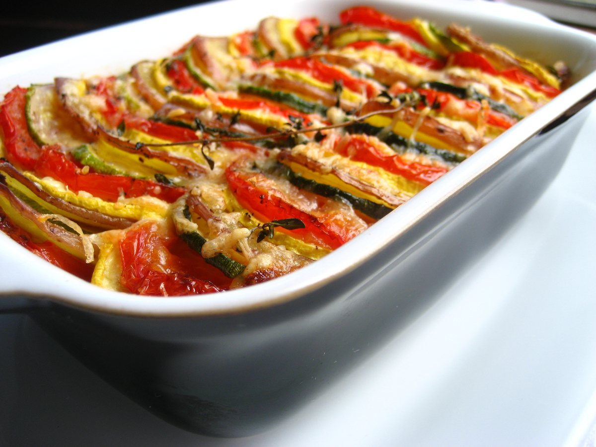 vegetable tian (ina garten)