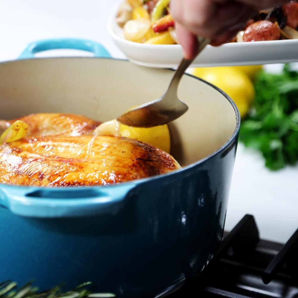 Weeknight Chicken In a Pot