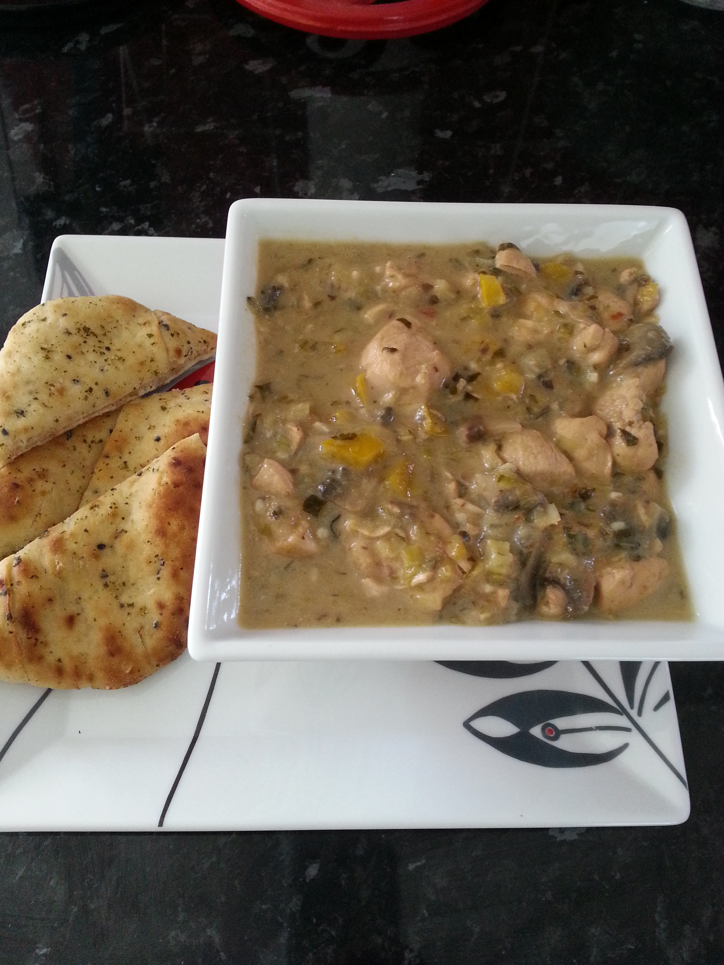Weight Watchers Coconut Chicken Curry 8 Pro Points