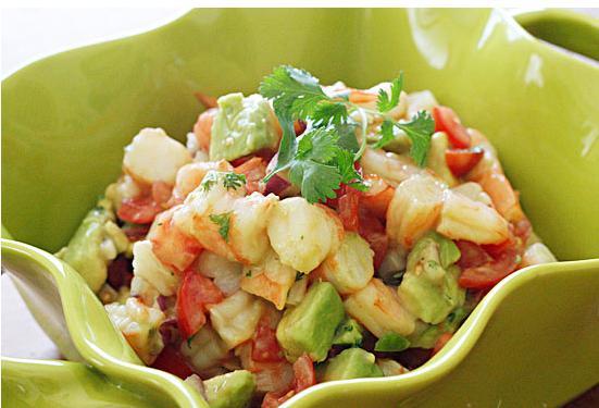 recipe: avocado shrimp salad [14]
