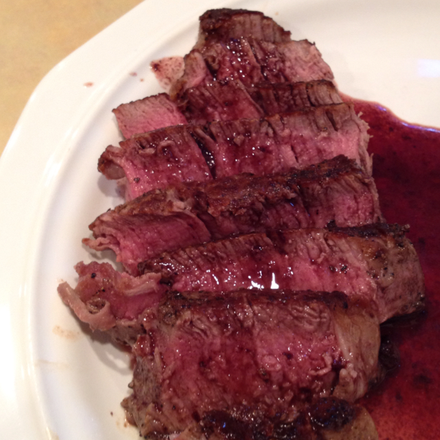 Filet Mignon with Red Wine Sauce - BigOven