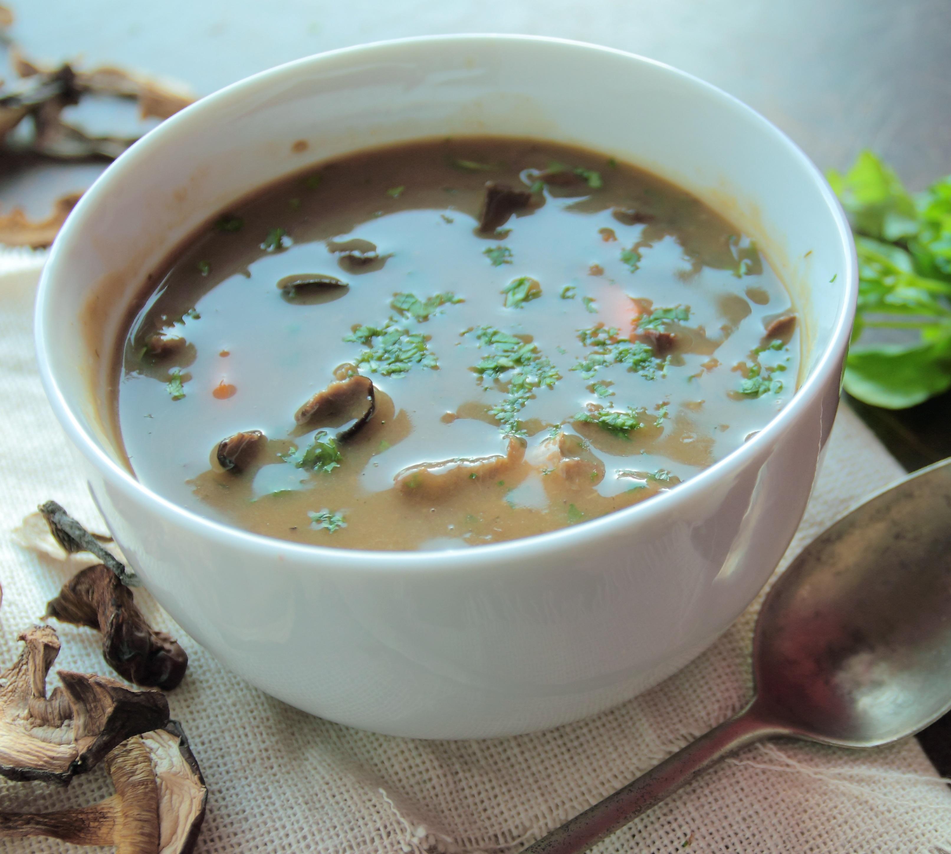 Garlic Mushroom Soup - BigOven