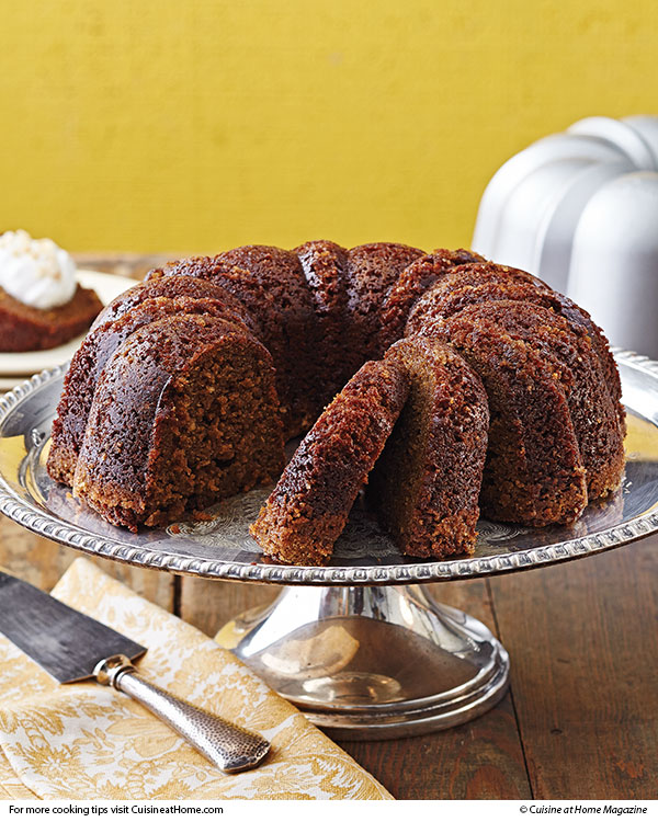 Recipes Course Desserts Cakes Gingerbread Bundt Cake