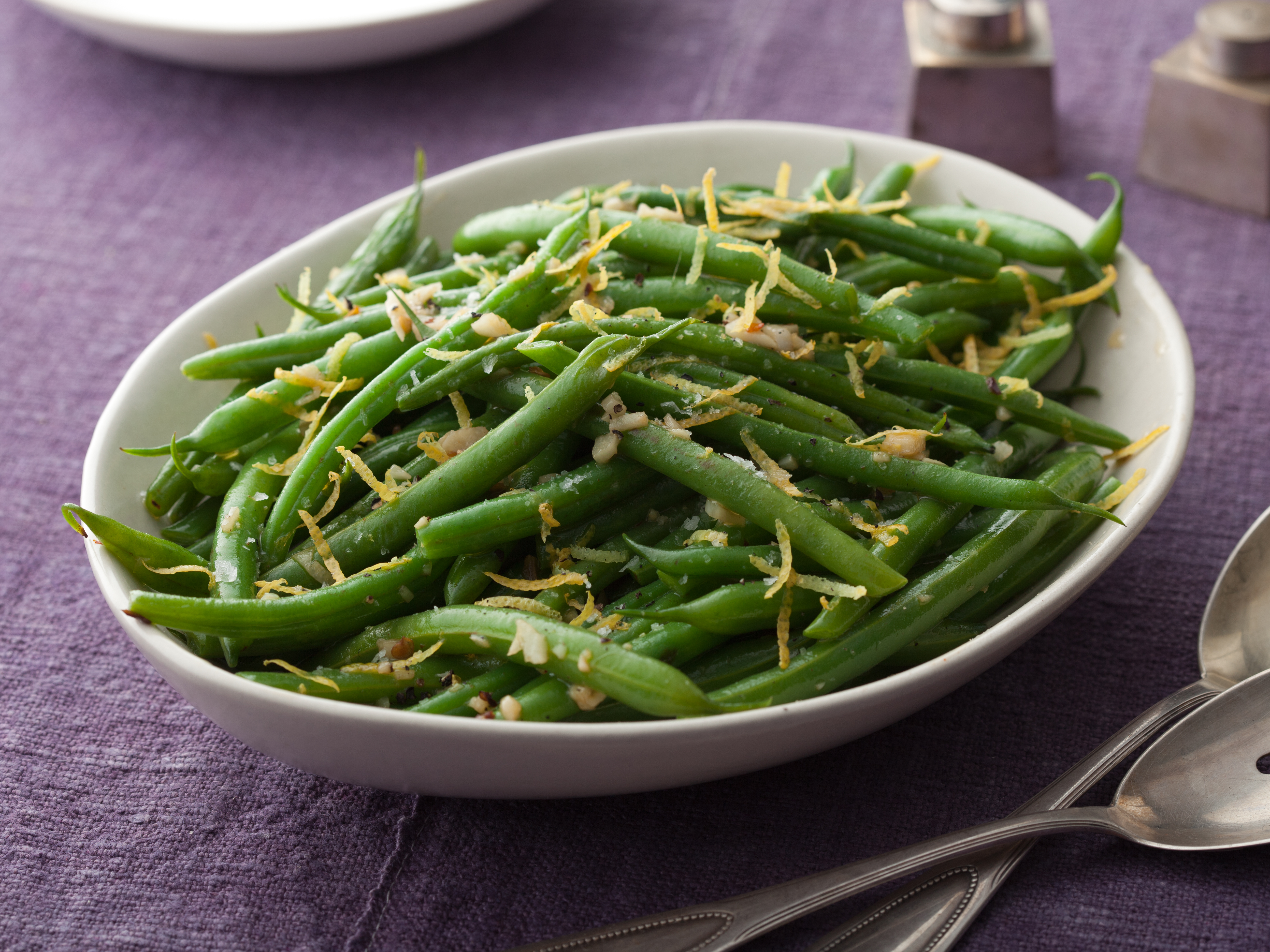 Recipes Course Side Dish Vegetables Green Beans with Lemon and Garlic