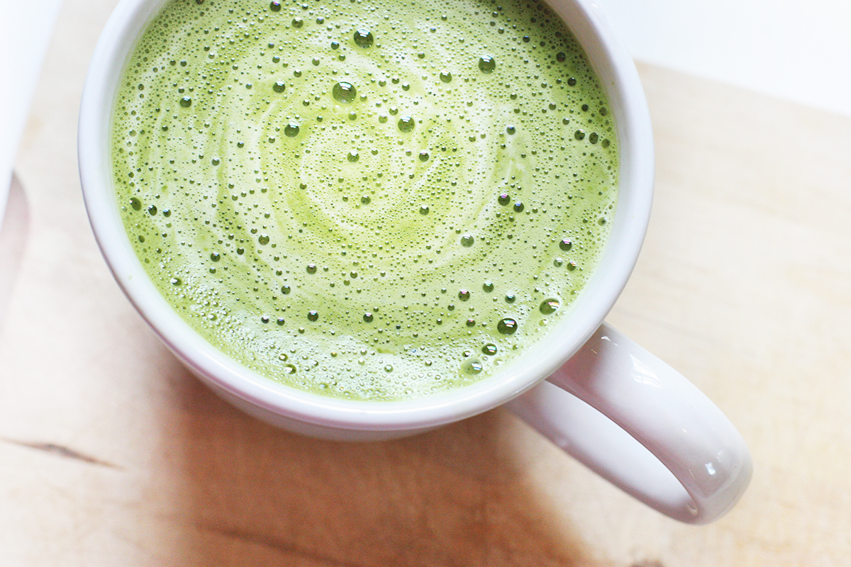 Can you make green tea latte with bags