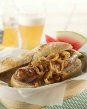 how to make bratwurst with beer