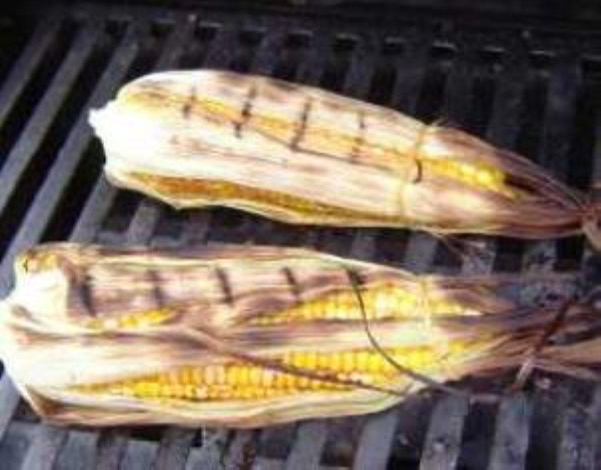 Grilled Corn with Maple Vinaigertte - BigOven