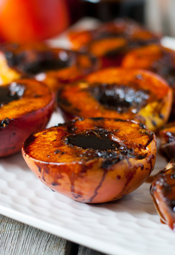 Grilled Peaches - JD Style - BigOven