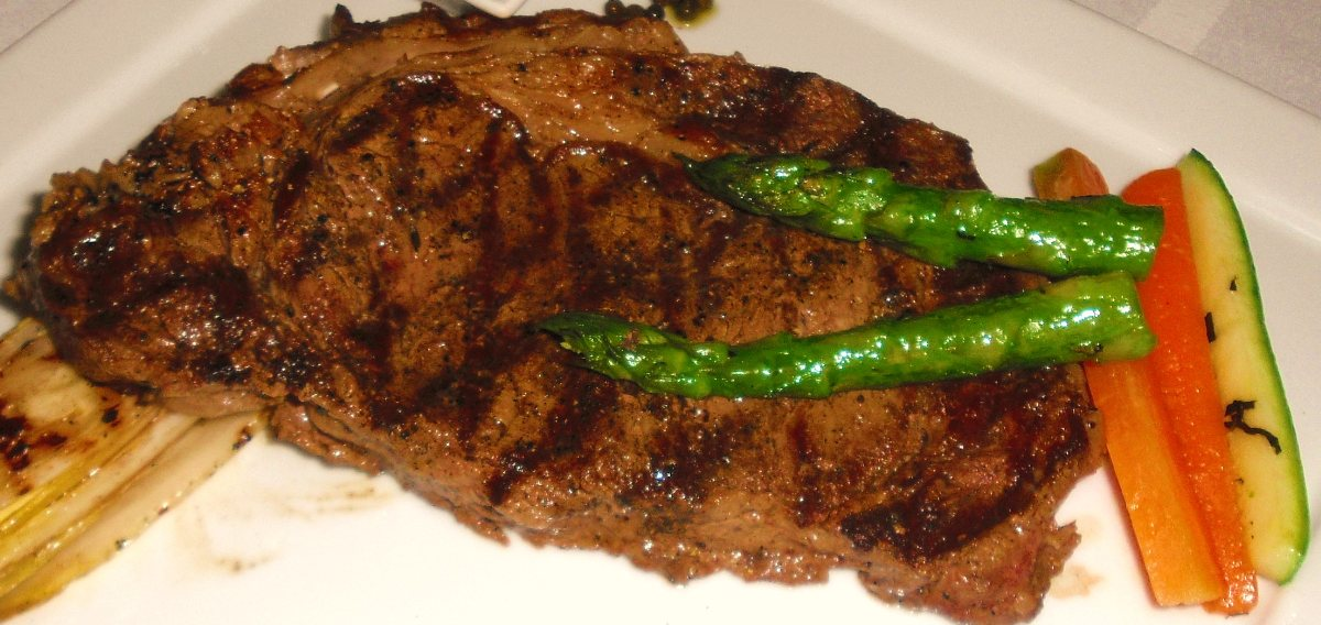 Grilled Ribeye Steak with Guinness Marinade - BigOven