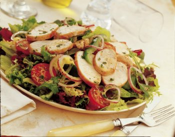 Grilled Turkey Salad with Dijon Mustard Dressing - BigOven