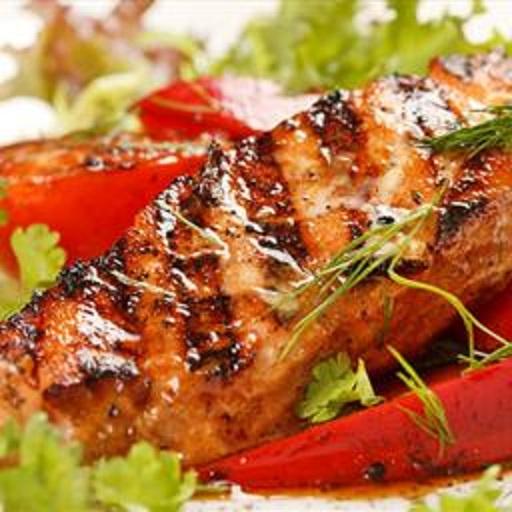 Grilled fish with brazilian garlic marinade bigoven for Marinade for fish
