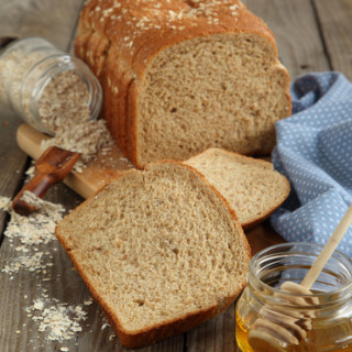 100% not your mom's whole wheat-honey bread