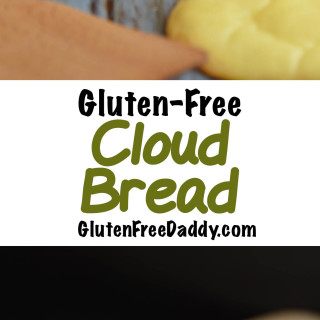 4-Ingredient Cloud Bread Recipe {Gluten-Free, Carb-Free} - Plus Ideas of Ho